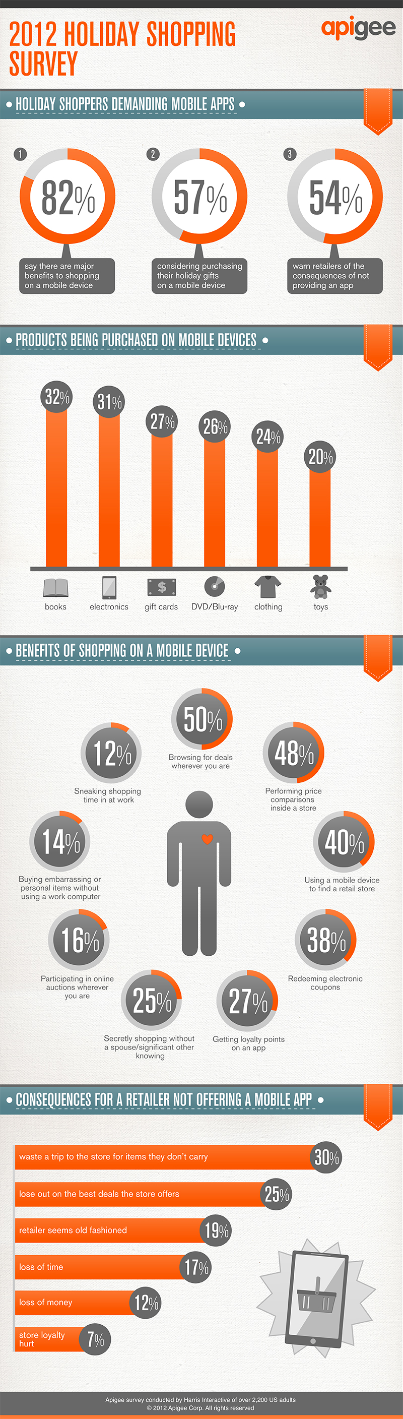 Infograph - 2012 Holiday Shopping Survey