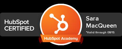 Hubspot Certified - Big Fish