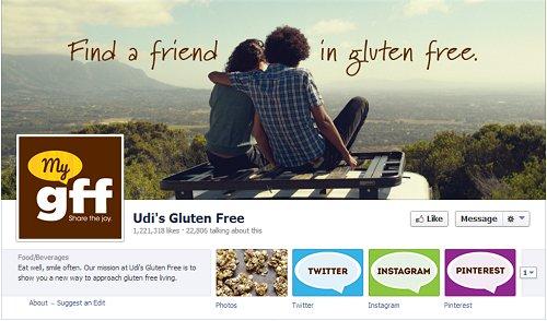Udi's Facebook Page