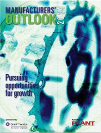 Plant Magazine Manufacturers' Outlook 2014